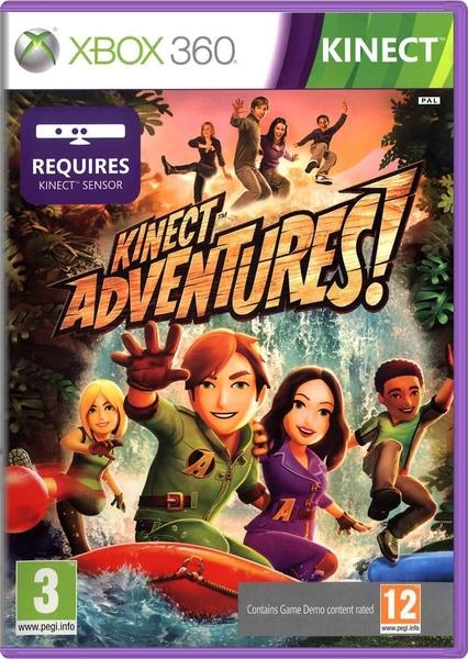 xbox 360 kinect adventures pigus zaidimai