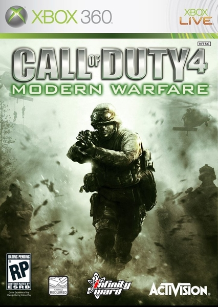 xbox 360 call of duty modern warfare4