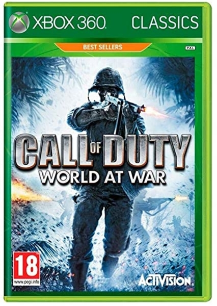 xbox 360 call of duty world at war