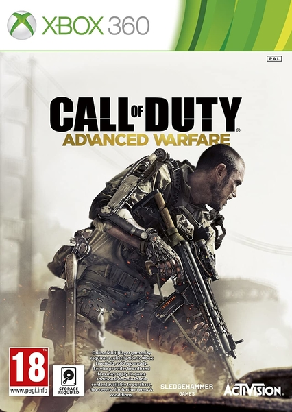 XBOX 360 call of duty advanced žaidimai