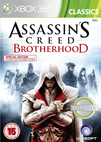 xbox 360 assassins creed brotherhood zaidimai
