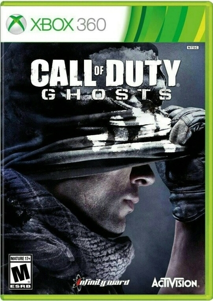 call of duty ghosts xbox 360 zaidimai