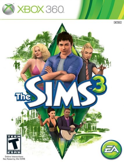 xbox 360 the sims