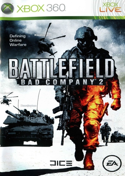 xbox 360 battlefield bad company 2