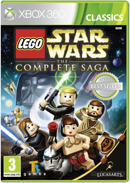 xbox 360 lego star wars zaidimai