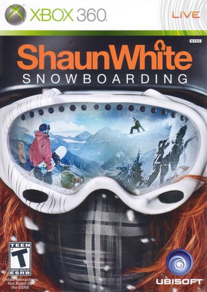 xbox 360 shaunwhite snowboarding