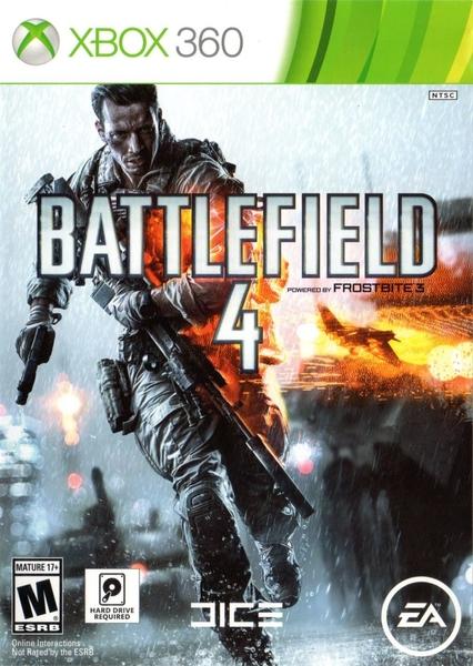xbox 360 battlefield4 zaidimai