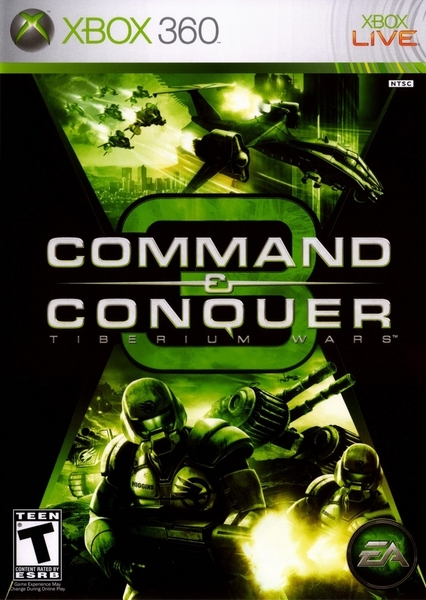 xbox 360 Command & Conquer 3 Tiberium Wars