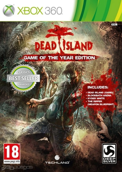 xbox 360 dead island zaidimai