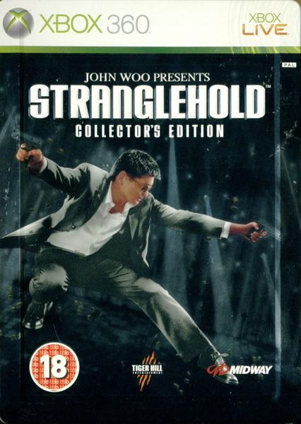 xbox 360 StrangleHold Collectors Edition