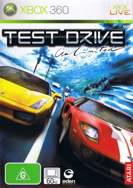 xbox 360 test drive