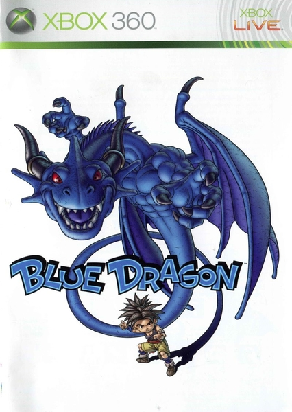 xbox 360 blue dragon