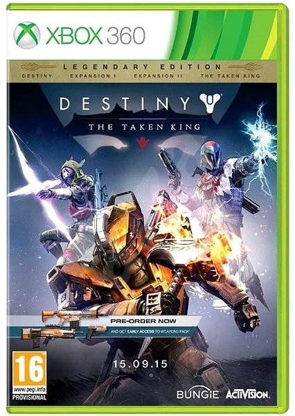 xbox 360 destiny the taken king