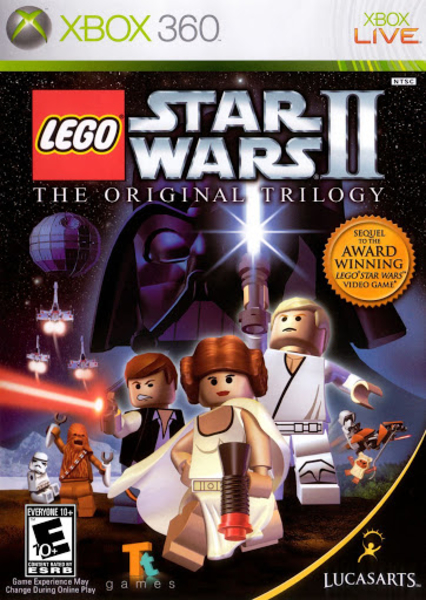 xbox 360 lego star wars II