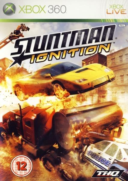 xbox 360 stuntman ignition zaidimai