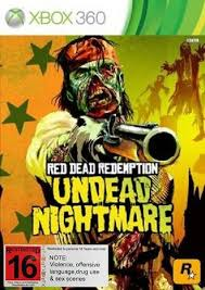 xbox 360 read dead undead nightmare