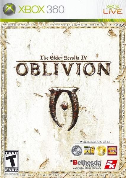 The Elder Scrools IV Oblivion xbox zaidimai