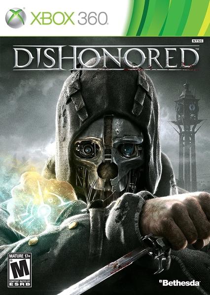 xbox 360 naudoti zaidimai Dishonored rgh