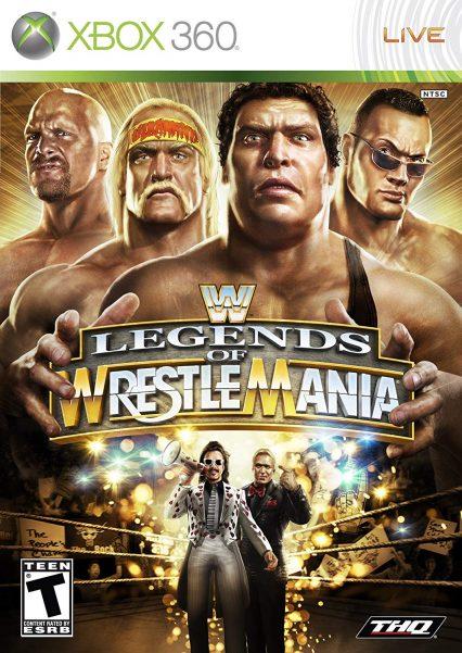 WWE XBOX žaidimai