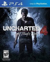 Uncharted 4: A Thief's End ps4 žaidimai