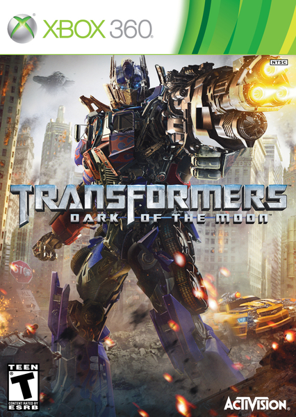 xbox 360 Transformers Dark Of The Moon