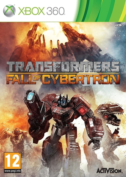xbox 360 Transformers Fall Of Cybertron