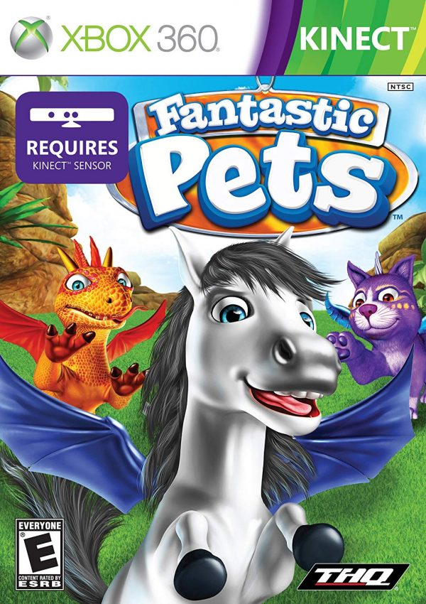 kinect fanstastic pets
