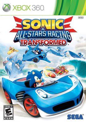 xbox 360 sonic all stars racing