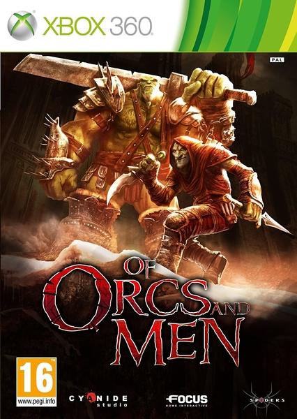 xbox 360 orcs of men