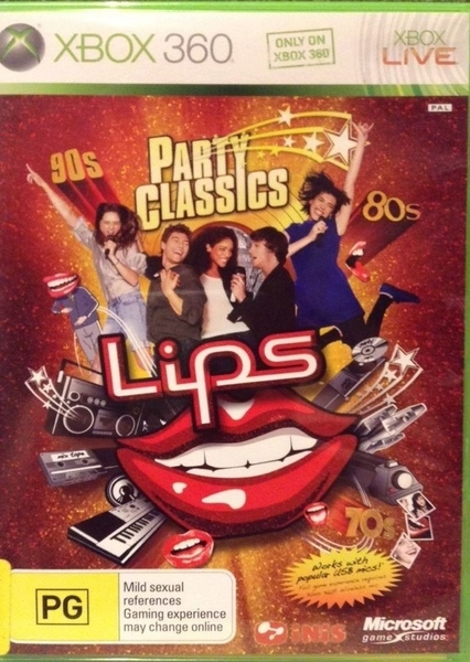 xbox 360 party classics lips