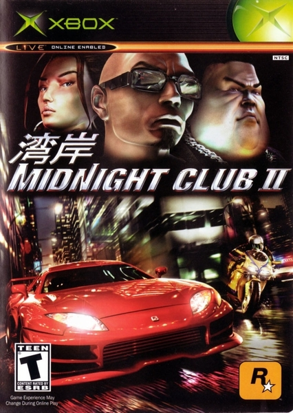 xbox 360 midnight club 2