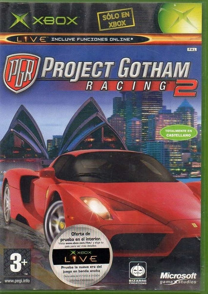 xbox 360 project gotham racing 2