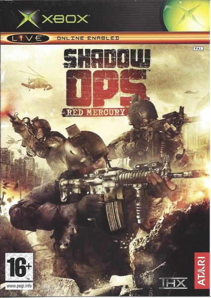 xbox 360 Shadow Ops Red Mercury