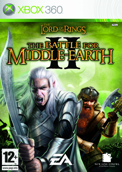 xbox 360 lord of rings battle II