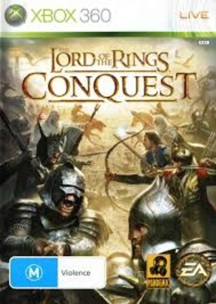Lord of Rings Conquest xbox 360