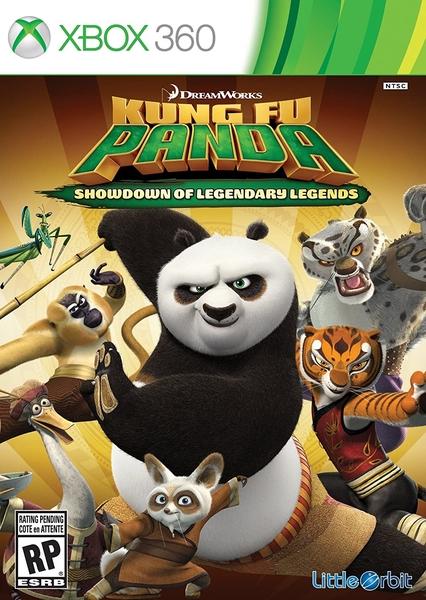 xbox 360 kungfu panda