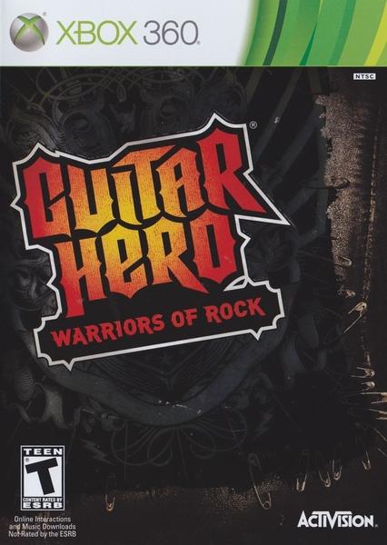 xbox 360 guitar hero warriors